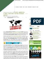 L'Evoluzione Del Movimento Vegetariano in Italia. Inter Vista a Carmen Somaschi Dell'AVI