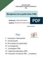 Management de la qualité totale (TQM)