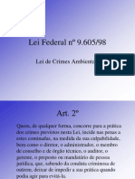 2 Lei de Crime Ambiental