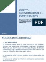 Direito Constitucional II Poder Legislativonovo