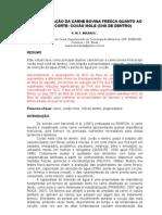 CARACTERIZAÇÃO FÍSICA E QUÍMICA DO CORTE BOVINO COXÃO MOLE