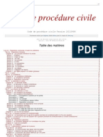Procedure Civile Nouveau