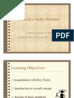 Statistics - Index Number