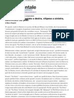 Marco Respinti, «Obama è schiaffeggiato a destra, vilipeso a sinistra, bacchettato dai preti» [rubrica «Tea party. Cronache del monodo conservatore»], in «l'Occidentale. Orientamento quotidiano», Roma 06-10-2011