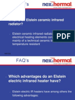 Technical Questions on Use of Electric Ceramic Heaters