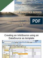 SAP BI 7 Info Source