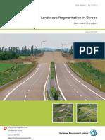 Landscape Fragmentation in Europe
