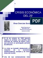 CRISIS ECONÓMICA DEL 29'
