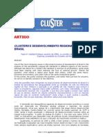 Clusters e to Regional No (1)