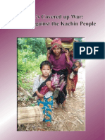 Report KWAT:Burma's Cover up War