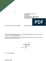 Envoi Documents Préparatoires CA 3 07 2008