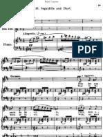 Seguidilla CARMEN Vocal Score