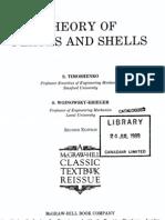 43730453 Timoshenko Theory of Plates and Shells