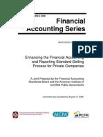 ITC Private Company Financial Reporting