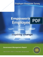 2011 Office of Personnel Management Federal Employee Viewpoint Survey