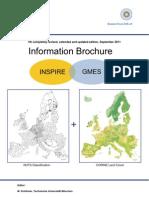 INSPIRE GMES - Brochure Informativa (7° edizione)
