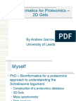 tics for Proteomics-2d Gels