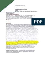 Evaluación Neuropsicológica del Lenguaje expl epi infantil