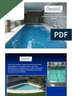 Implementación de piscinas ya construídas
