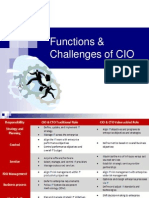 Functions & Challenges of CIO