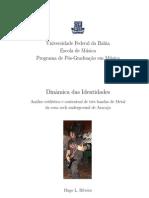 Dissertação Hugo L. Ribeiro - Dinamica das Identidades