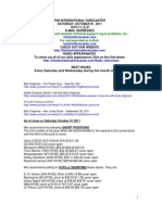 Bob Chapman - The International Forecaster 2011.10.01