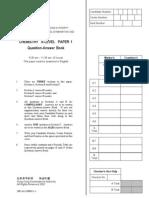 AL Chemistry 2002 Paper 1