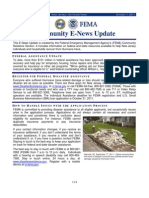 Community E-News Update DR-4021-NJ Issue 2
