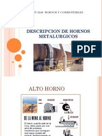 Descripcion de Hornos Metalurgicos