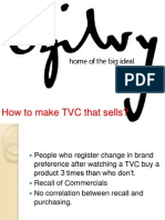 How to Make TVC That Sells