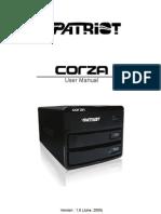 Corza English Manual