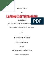 Histoire de La BerbÉrie