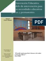 Ejemplo de PROYECTO de Innovación Educativa