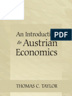 An Introduction to Austrian Economics - Thomas C. Taylor