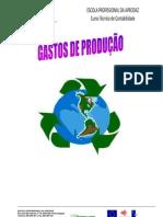 REFLEXÃO DE GASTOS DE PRODUÇÃO