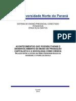 trabalho de sociologia da educação UNOPAR