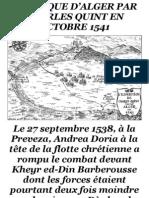 L'attaque d'Alger Par Charles Quint en Octobre 1541