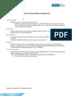 FY12 Top Ops Webinar Talking Points 100411