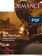 DSO Performance magazine, Fall 2011
