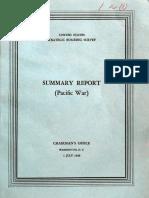 USSBS Report 1, Summary Report