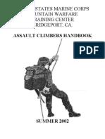 US Marine Corps - MWTC Assault Climbers Handbook (Mountaineering)[1]