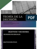 TEORÍA DE LA DECISIÓN