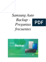 SPA_Samsung Auto Backup FAQ Ver 2.1