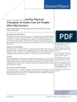 Hip Fracture and Home Care