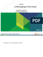 RabbitMQ Messaging in the Cloud VMworld 2010 MS