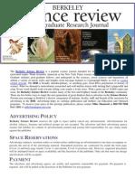 Berkeley Science Review