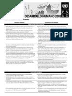 PNUD; Balance Del Desarrollo Humano