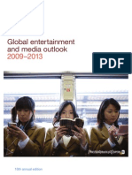 Global Entertainment and Media Outlook 2009-2013