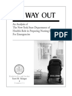 No Way Out Report