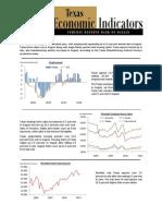Texas Economic Indicators Oct 2011